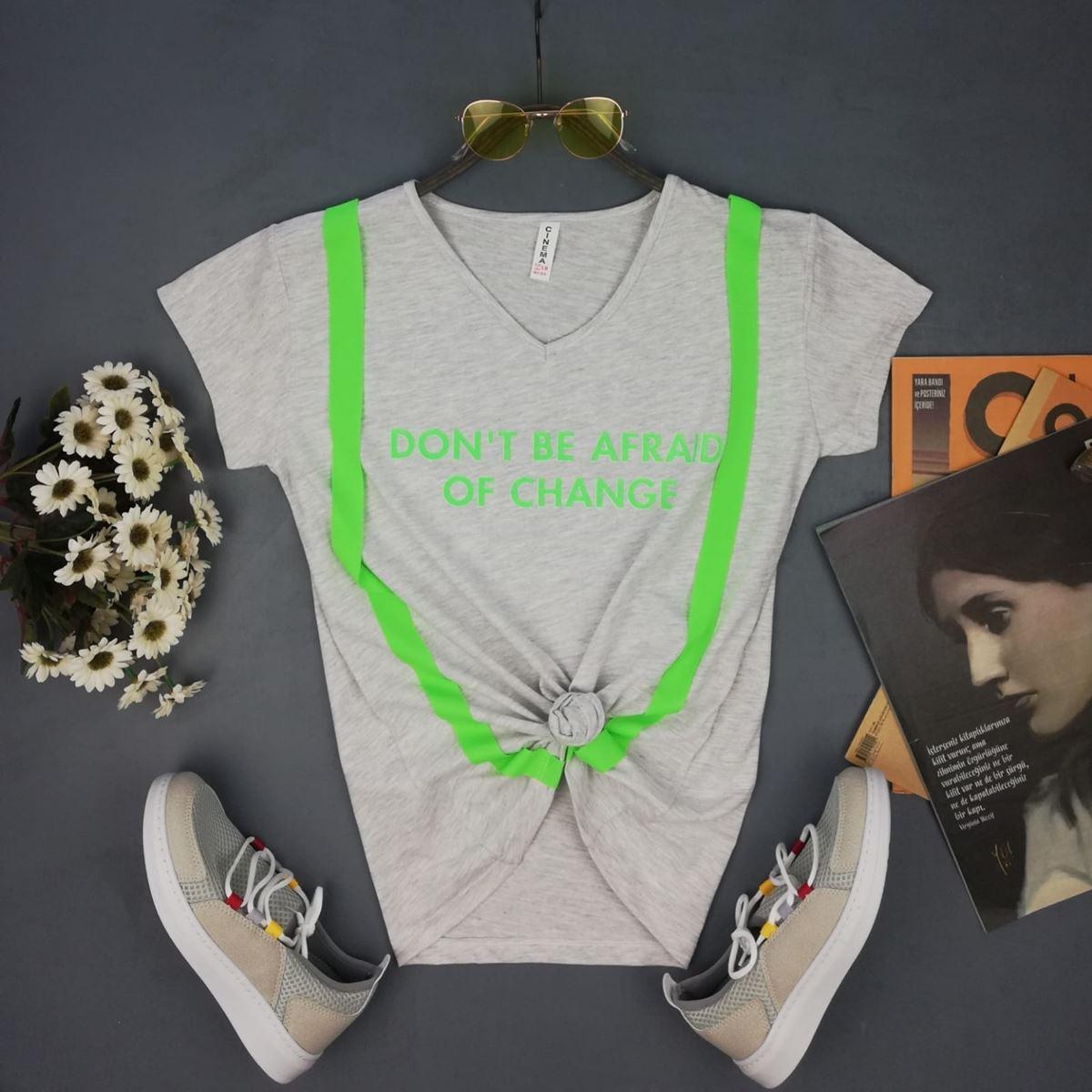 Gri Salopet T-shirt TSH071