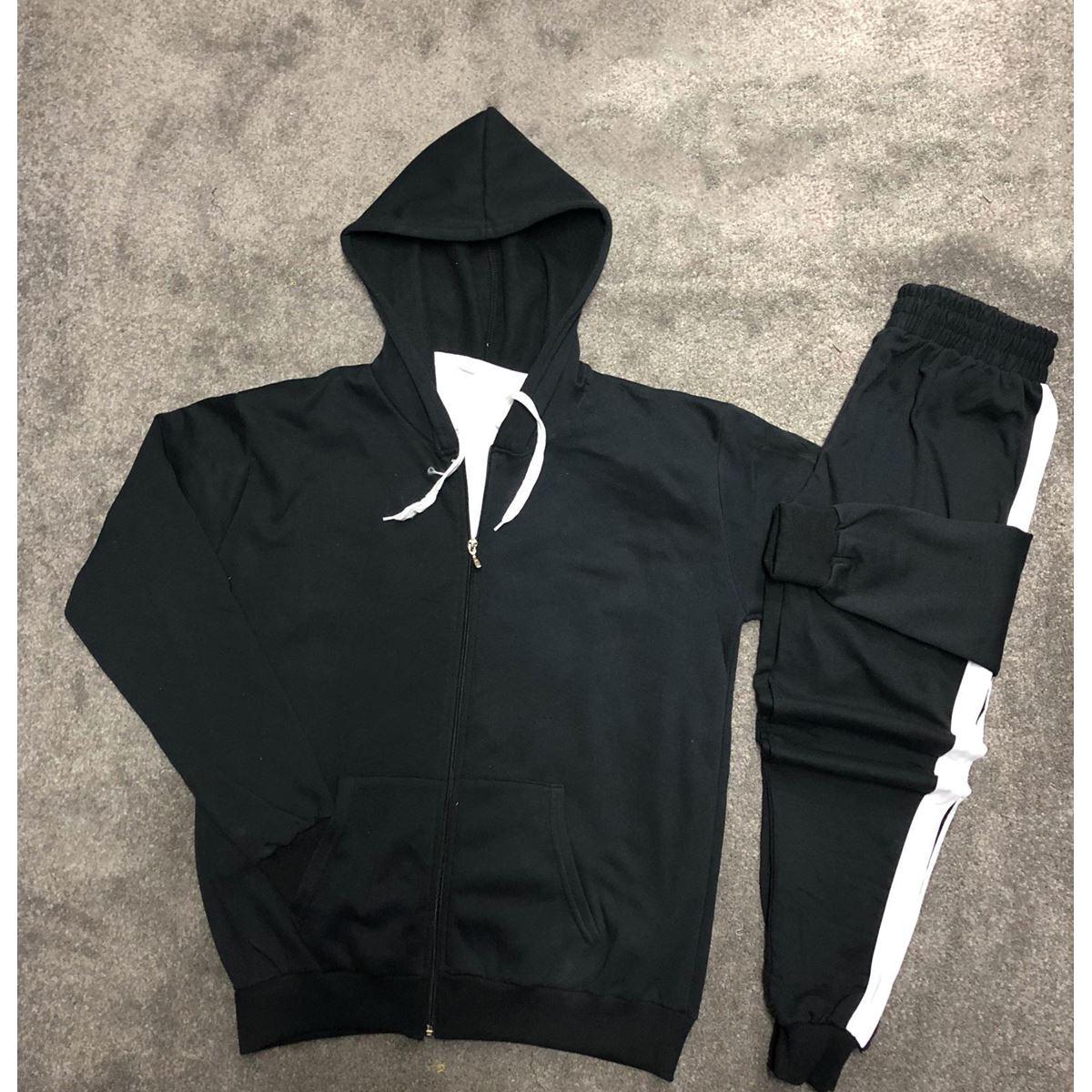 Siyah Erkek Eşofman Takımı ES001