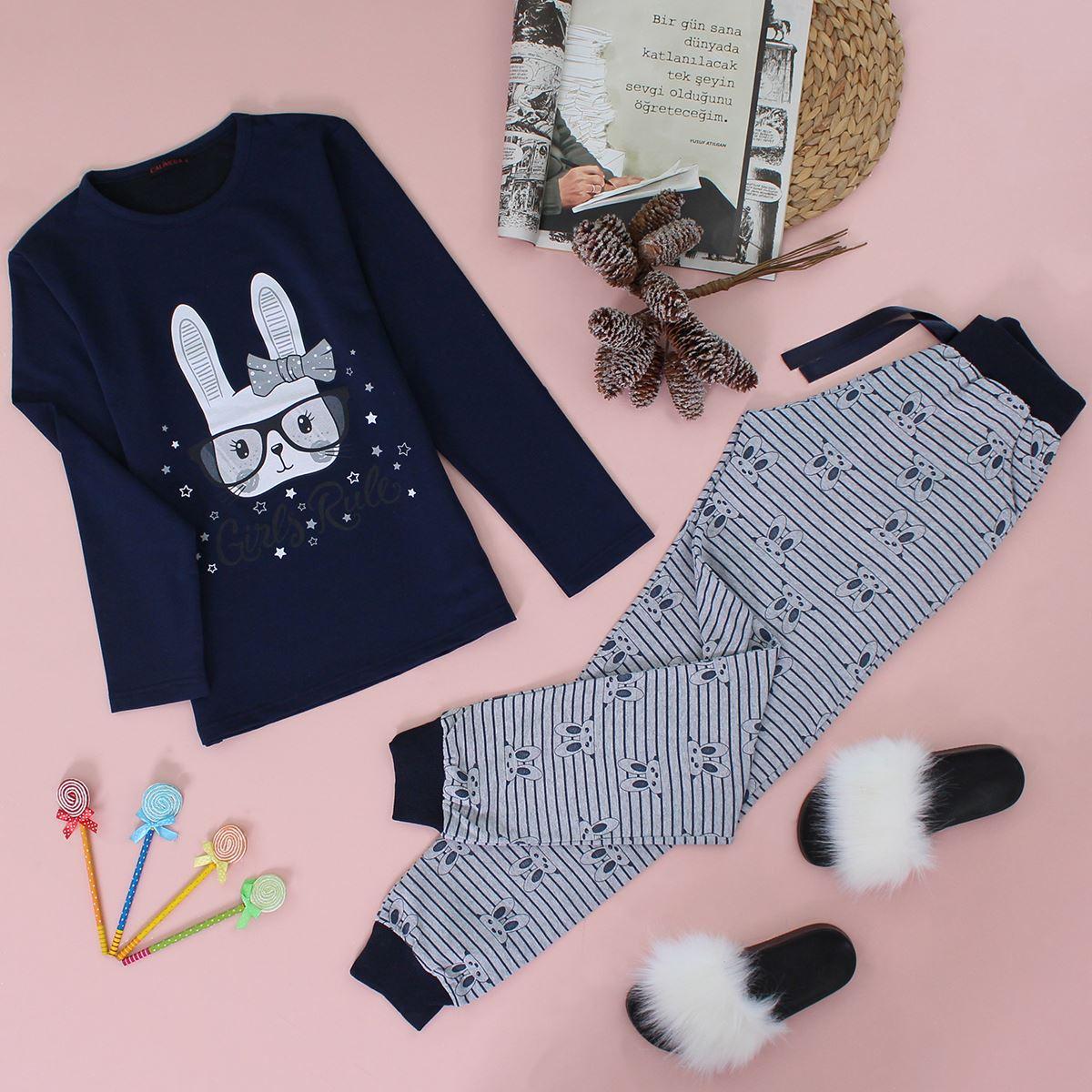 Baskılı Pijama Takımı PJM129