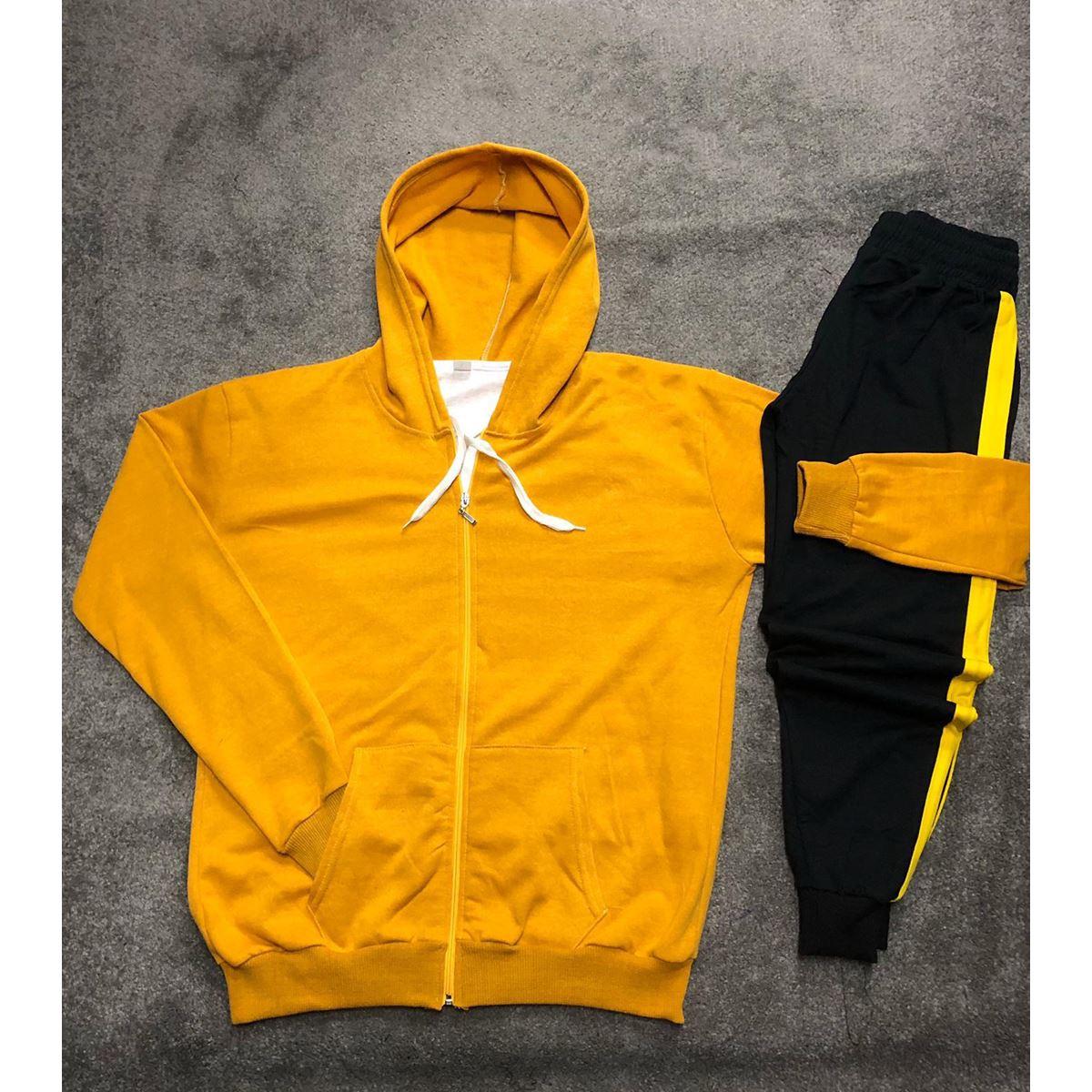 Sarı Erkek Eşofman Takımı ES005