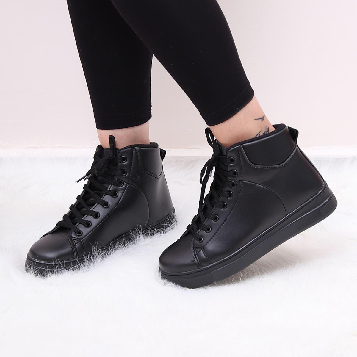 Siyah Spor Ayakkabı AYK146