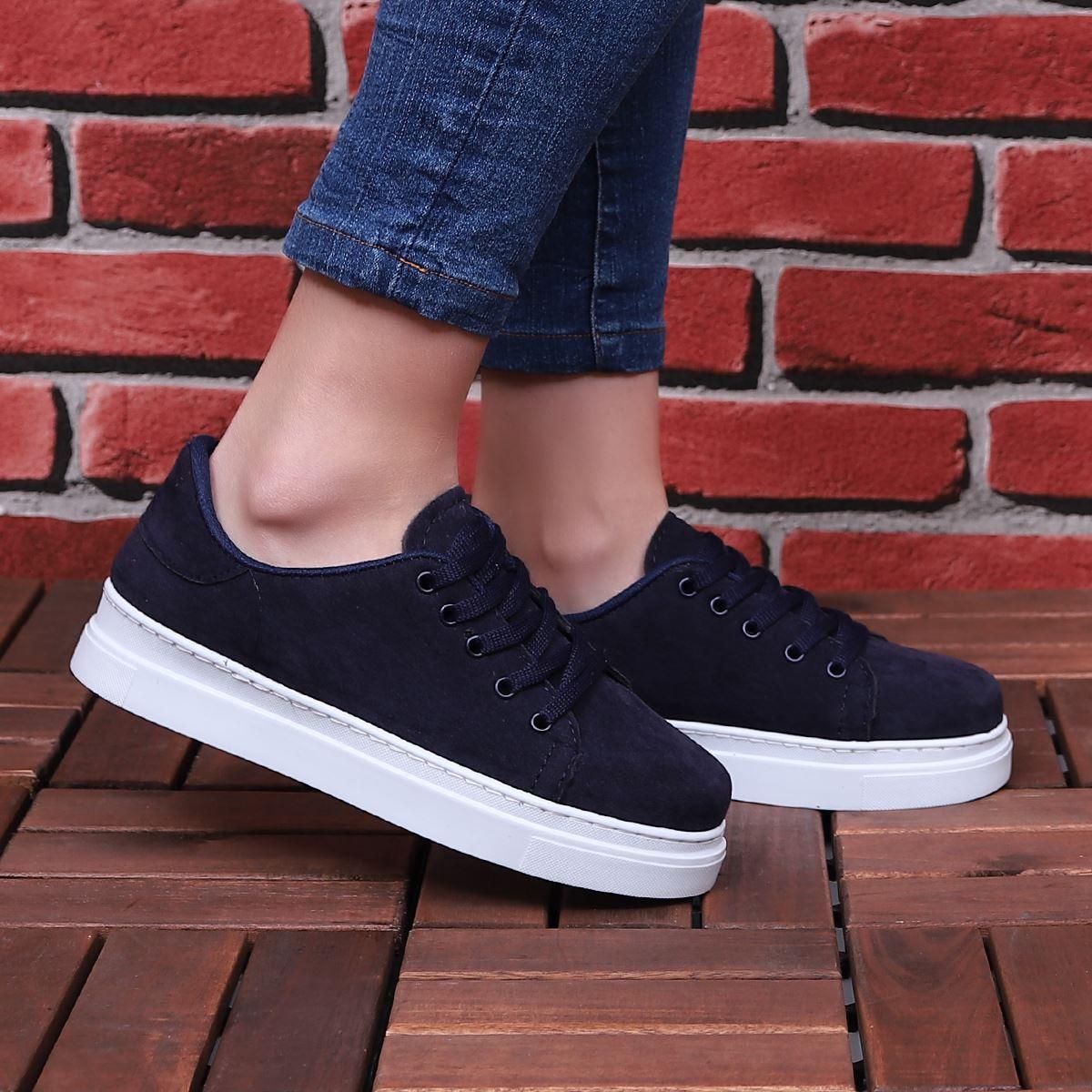 Lacivert Spor Ayakkabı AYK165