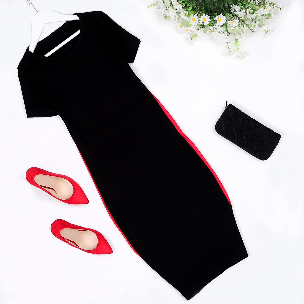 Siyah Elbise ELB182