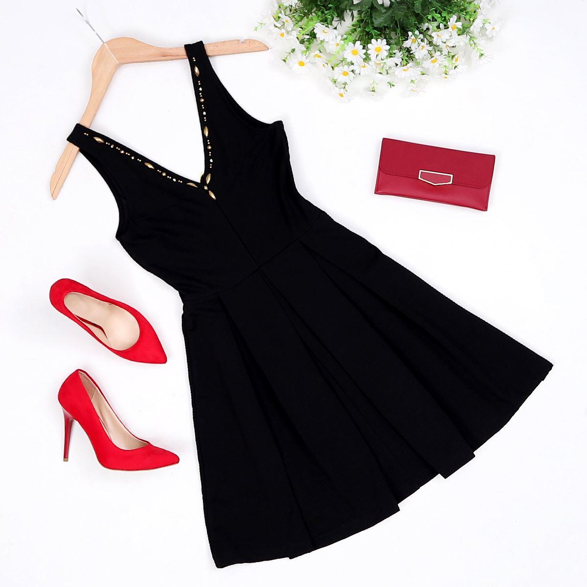 Siyah Elbise ELB250