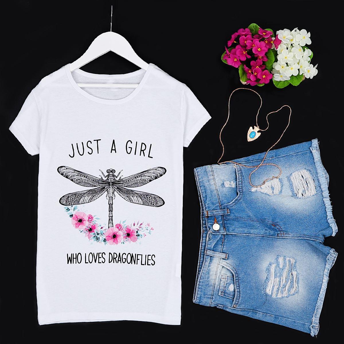 Beyaz Baskılı T-shirt TSH158
