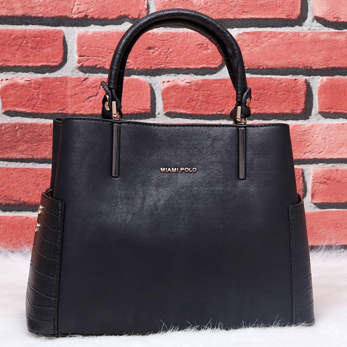 Siyah Klasik Çanta CNT186