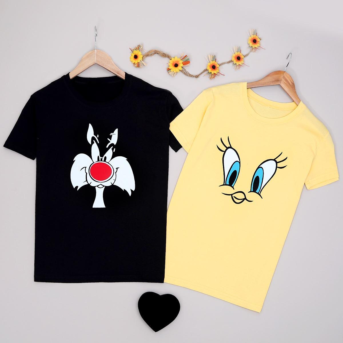 T-shirt Sevgili Kombini SVG225