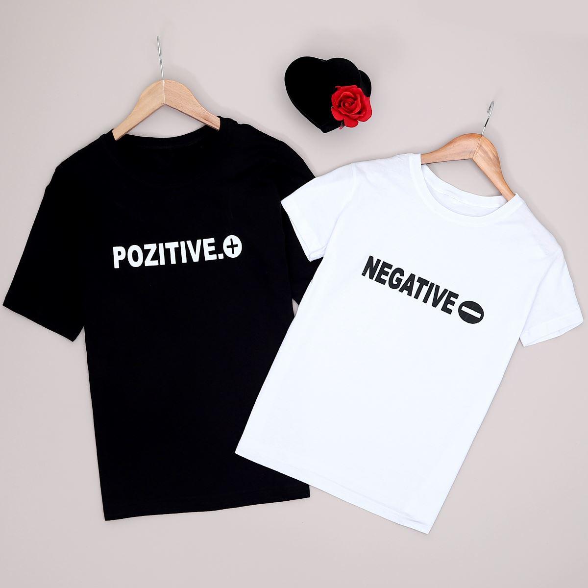 Siyah T-shirt Kadın Sevgili Kombini  SVG205