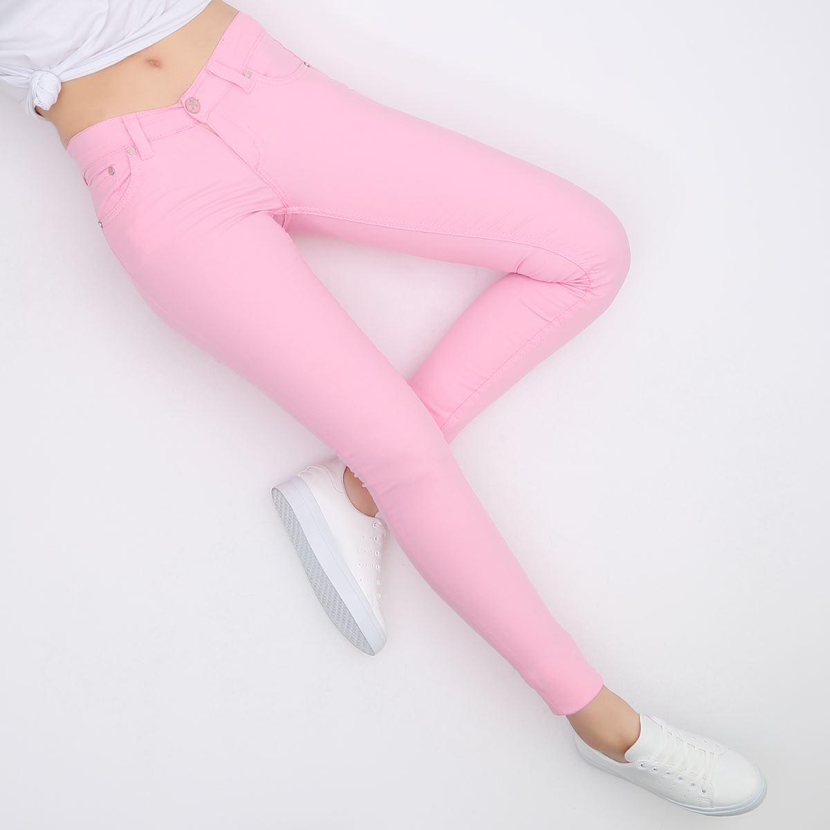Pembe Skinny Jean Pantolon PNT130