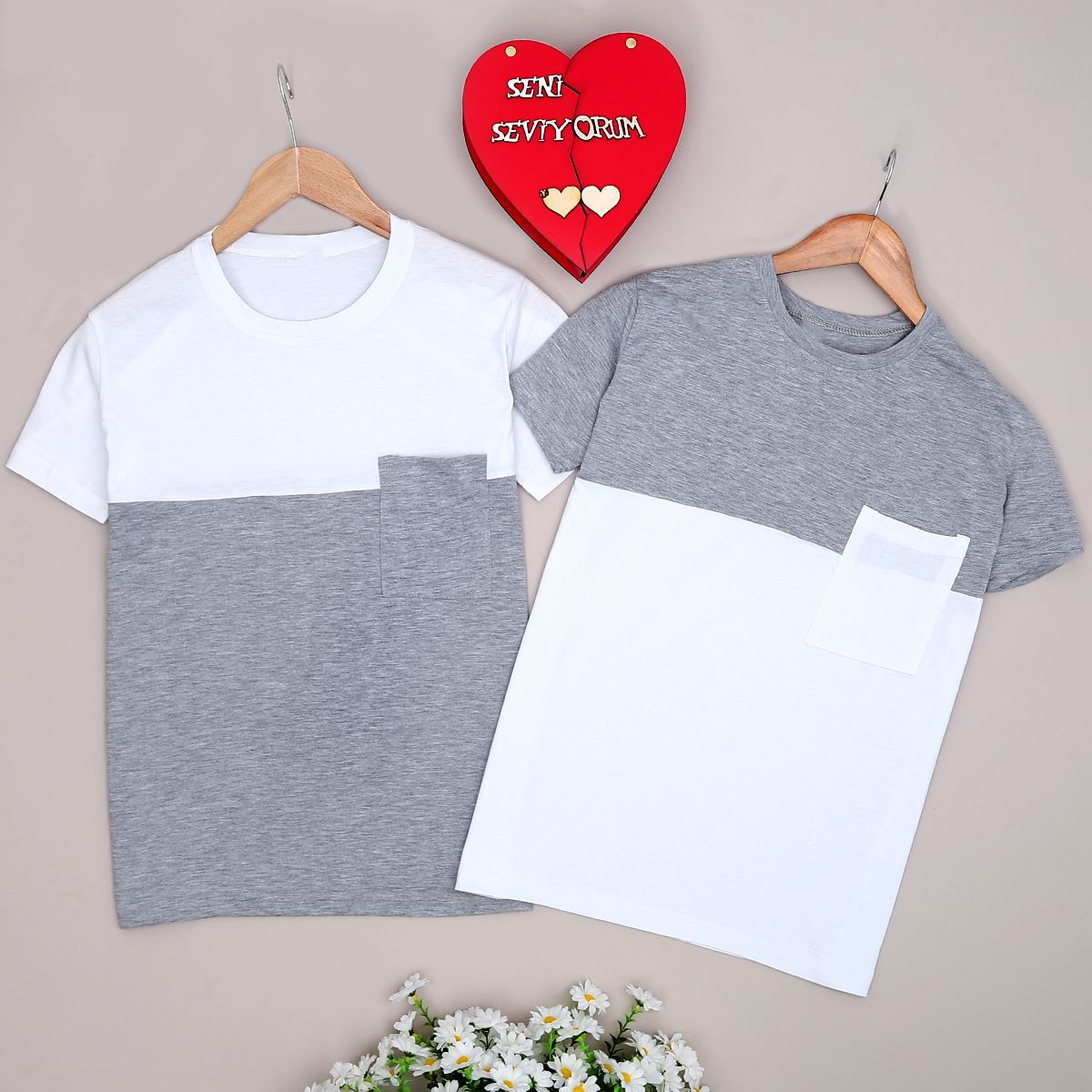 Beyaz Sevgili Kombini SVG168
