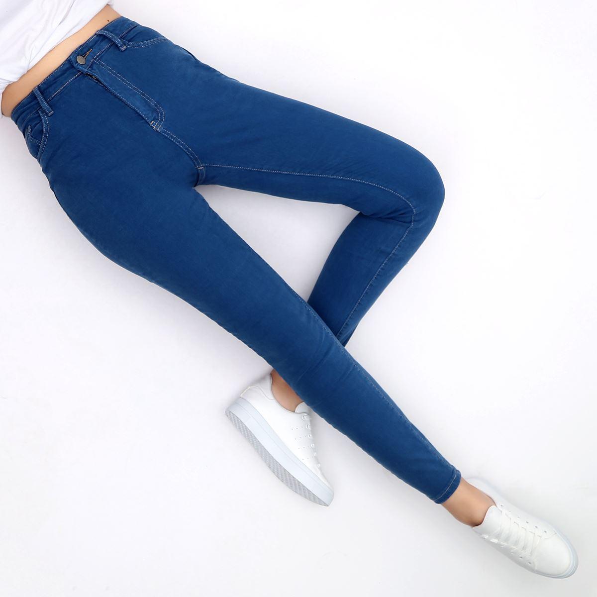 Yüksek Bel Skinny Jean PNT154
