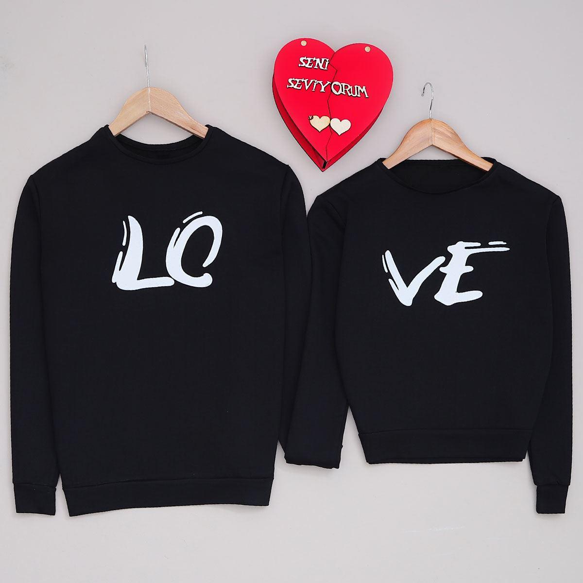 Lo-Ve Siyah Sevgili Kombini SVG243