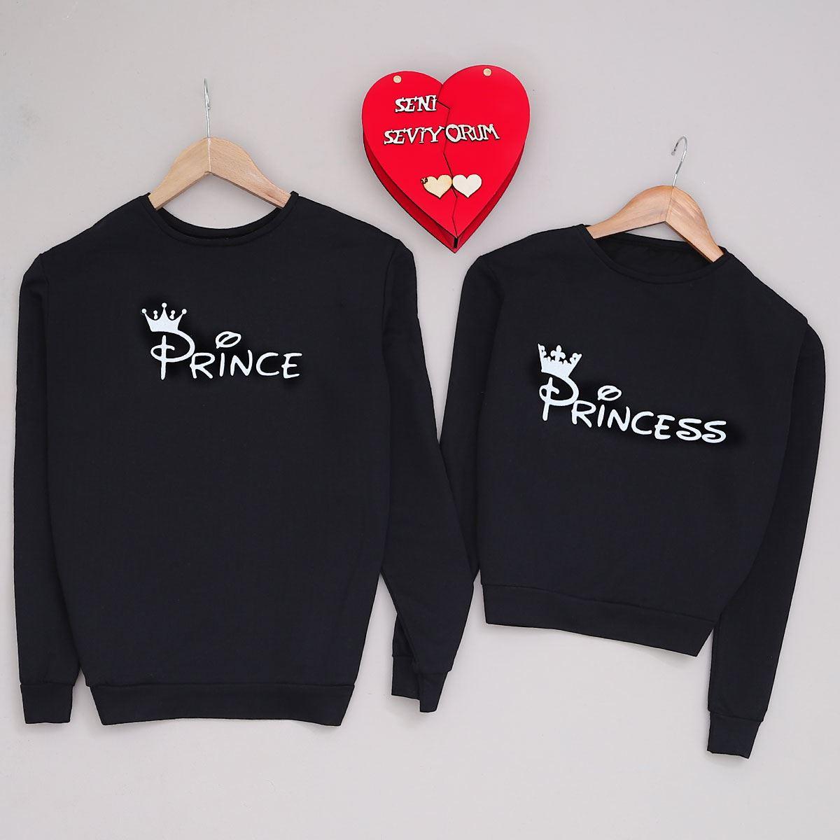 Princess Siyah Kadın Sevgili Kombini SVG254