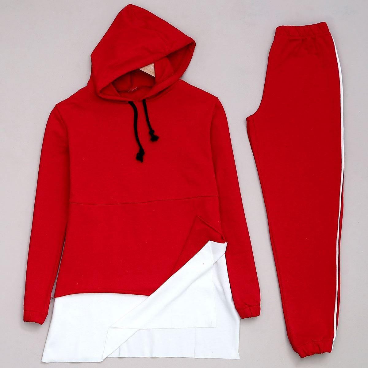 Kırmızı Kapşonlu Takım TKM922