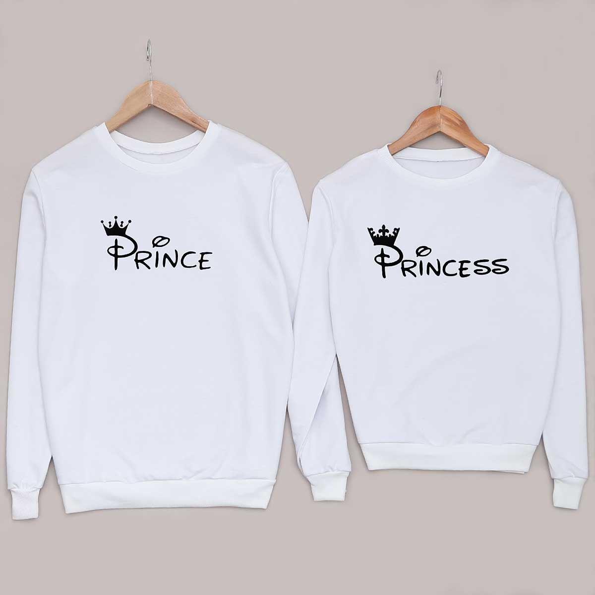 Prince-Princess Beyaz Sevgili Kombini SVG249