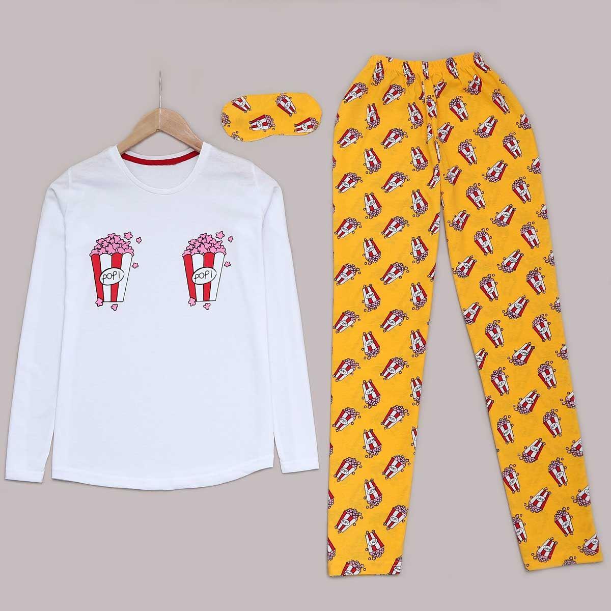 Popcorn Pijama Takımı PJM953