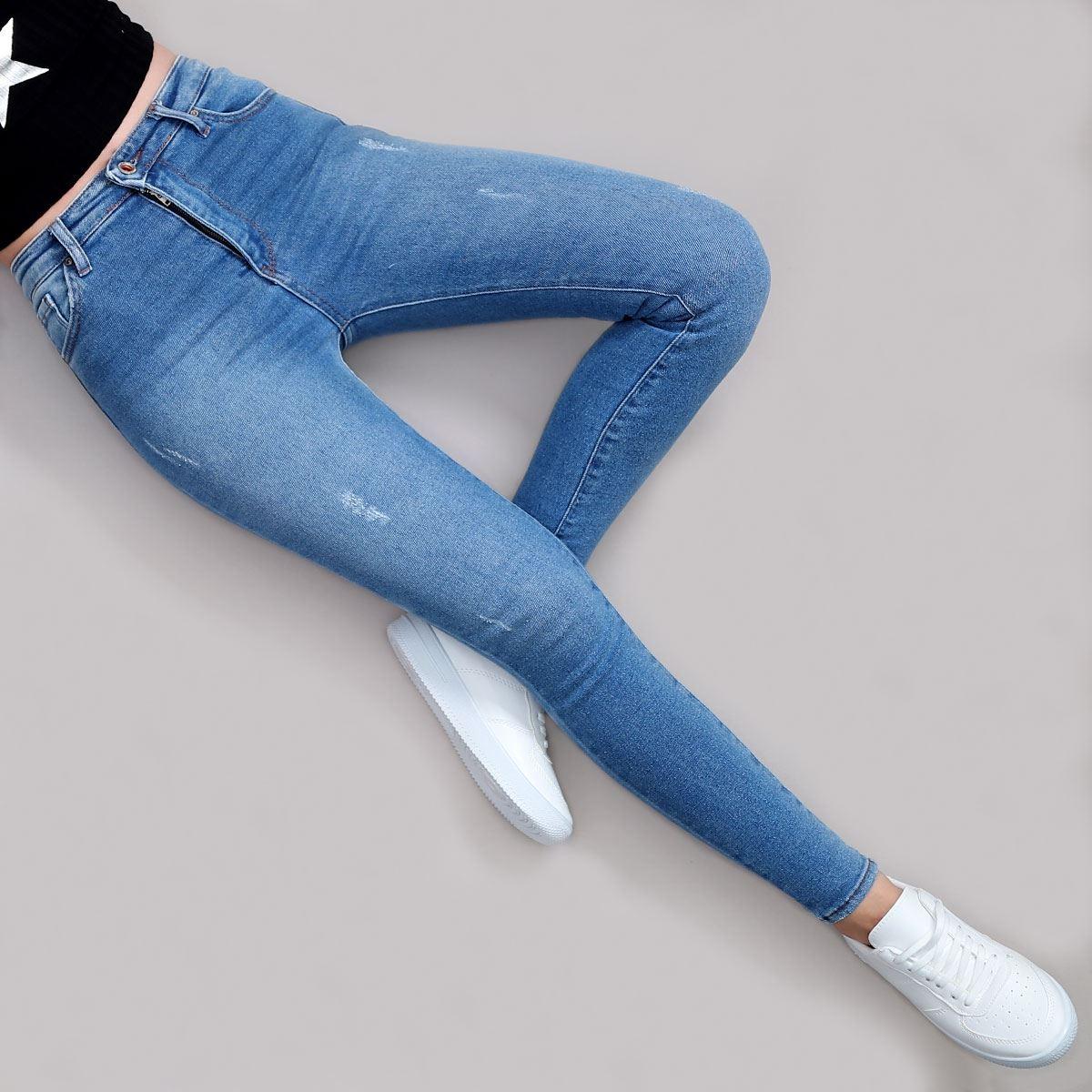 Yüksek Bel Skinny Jean PNT170