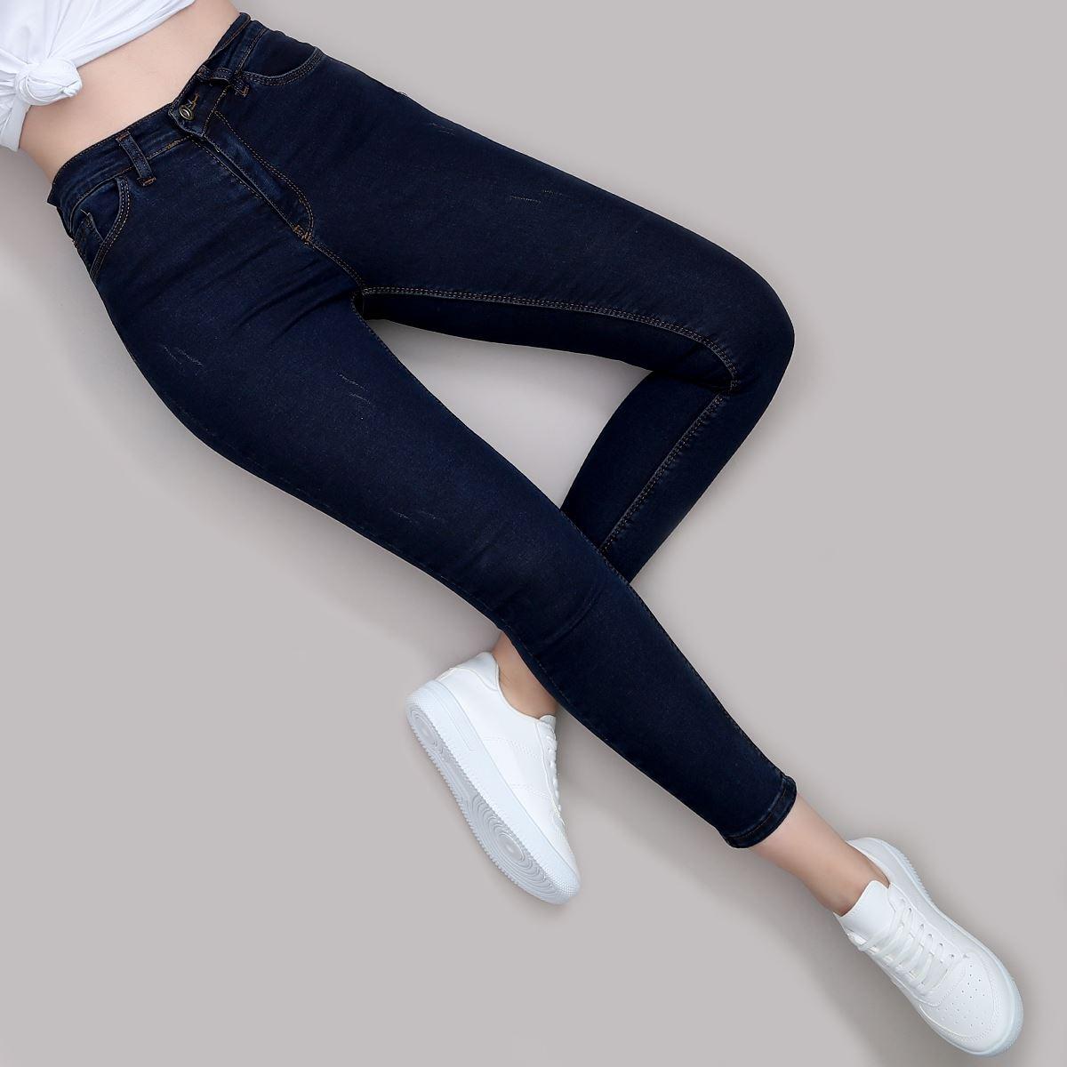 Yüksek Bel Skinny Jean PNT181