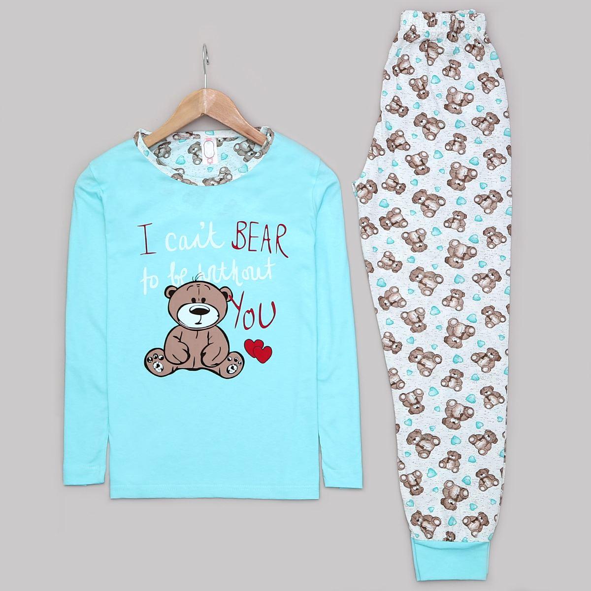 Bear pijama takımı PJM1008