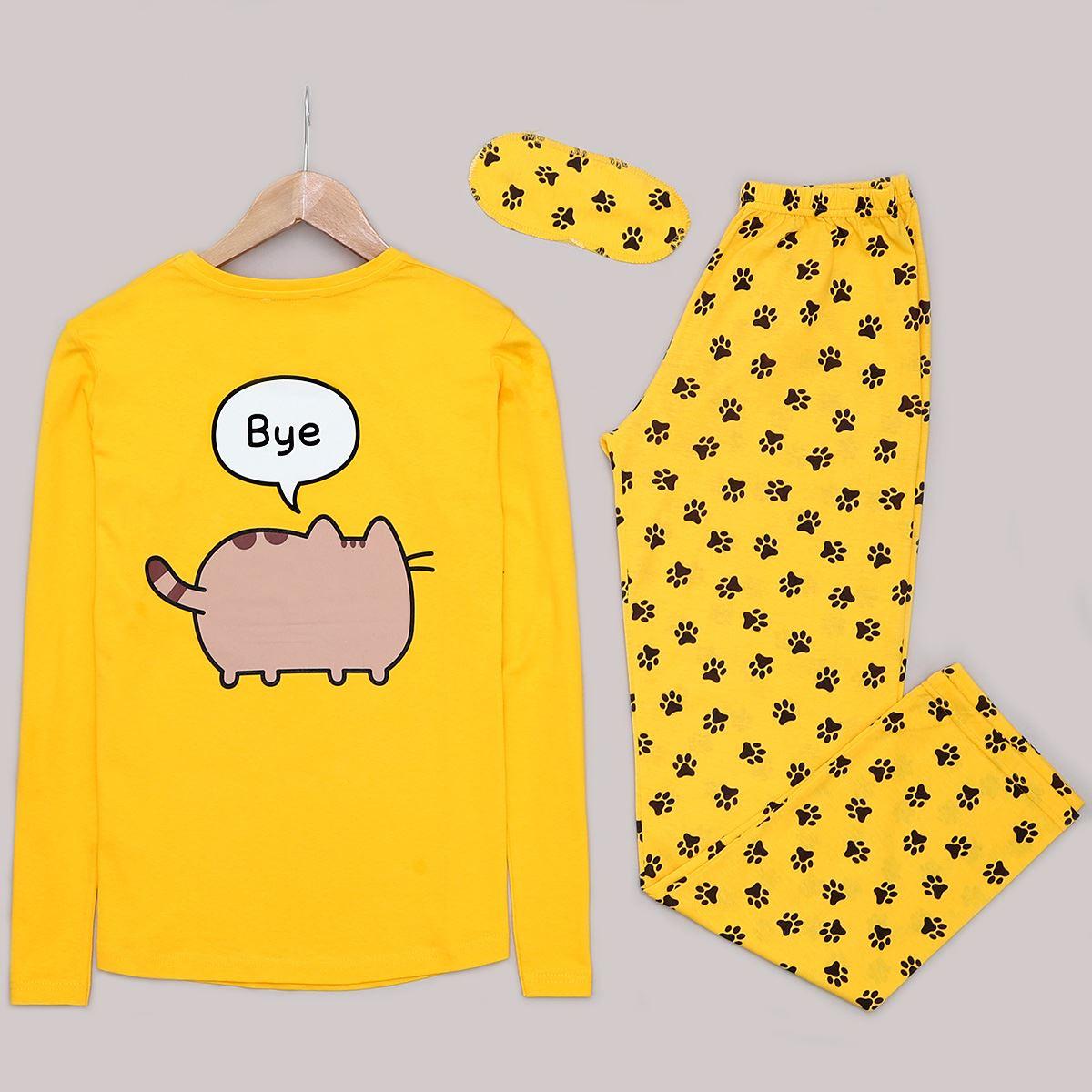 Hi Sarı Pijama Takımı PJM1010