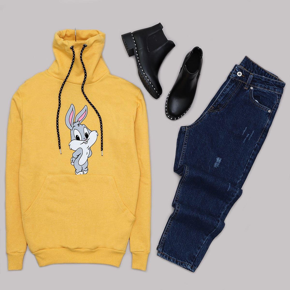 Rabbit Sarı Sweat SWT370