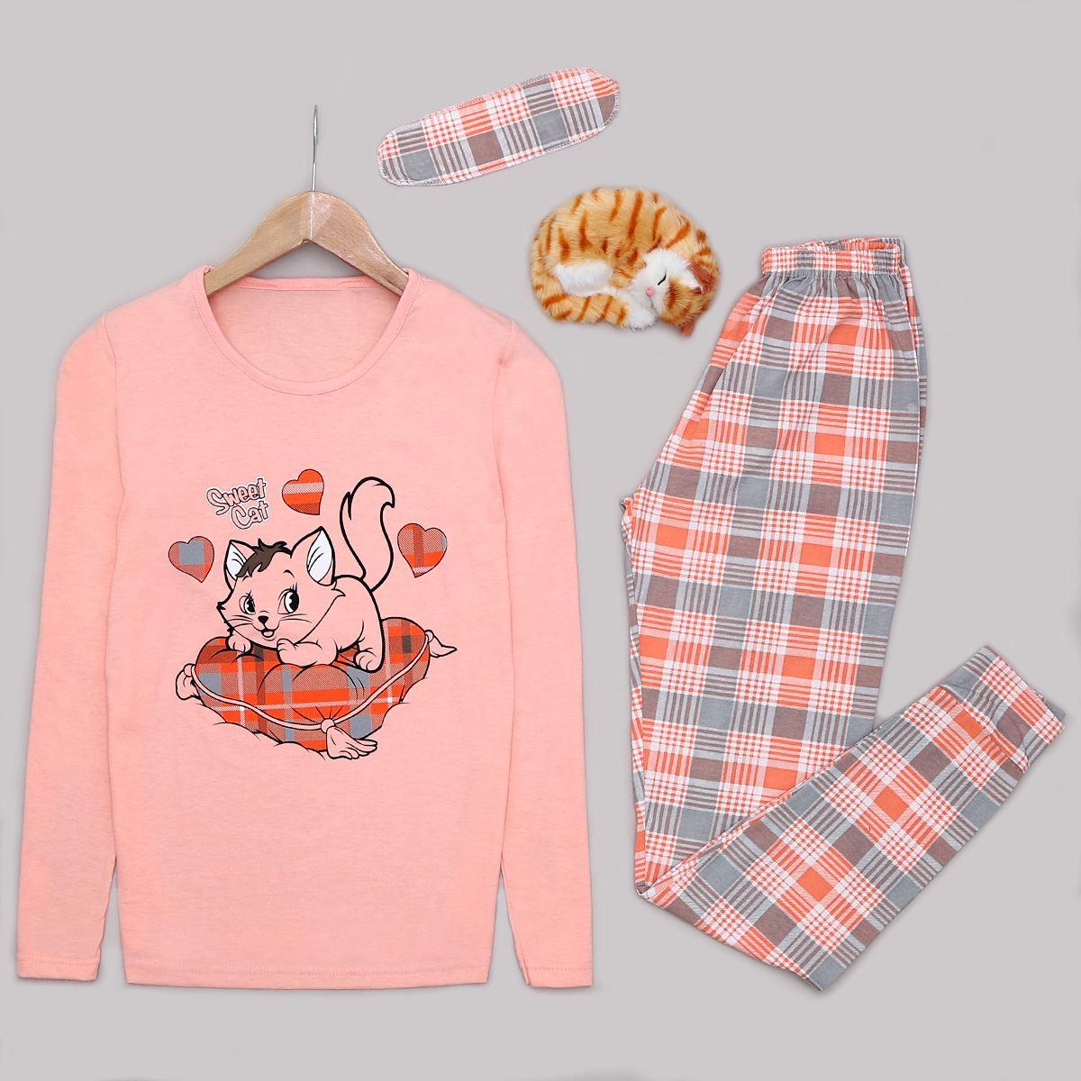Cat Pijama Takımı PJM1024