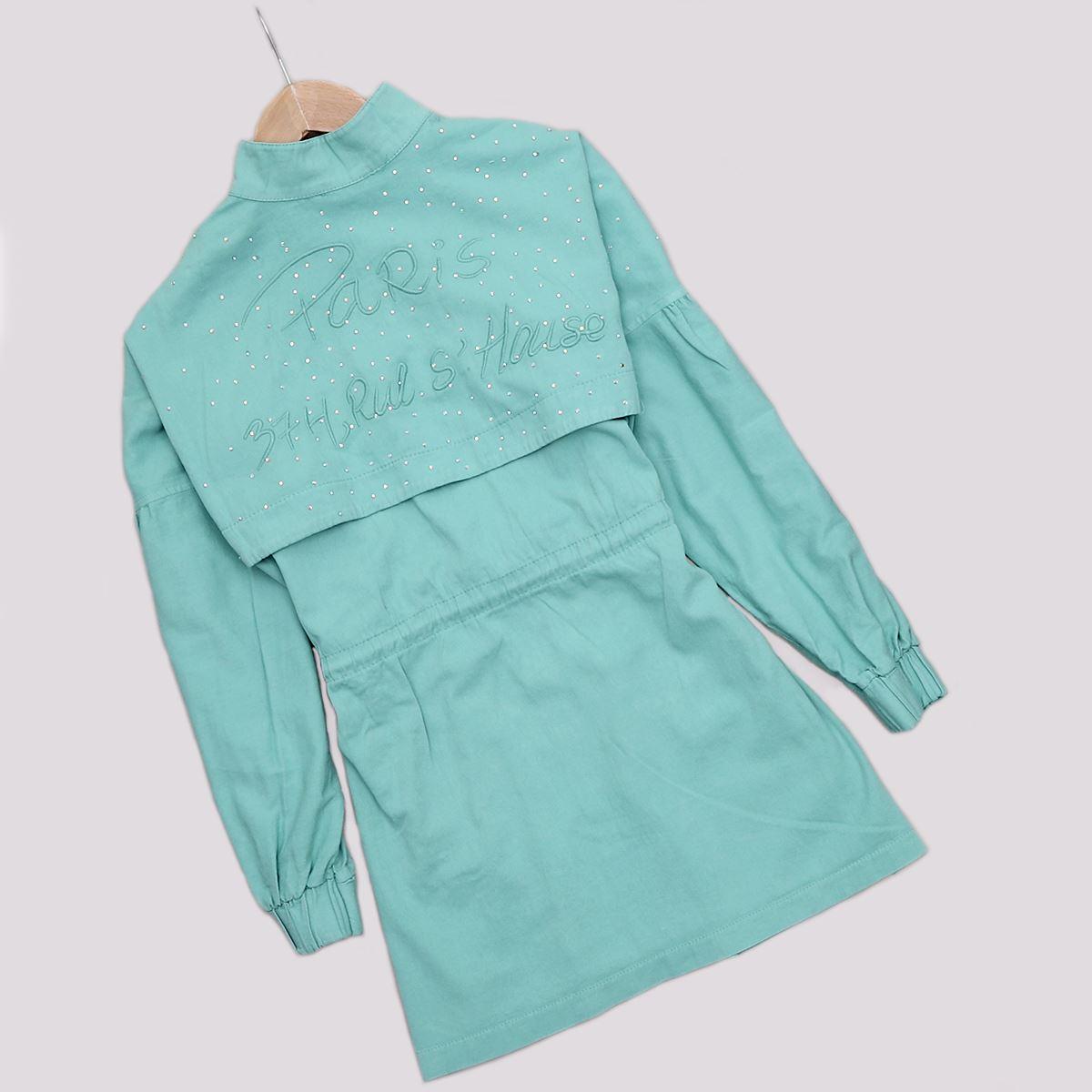 Mint Taşlı Ceket CKT206