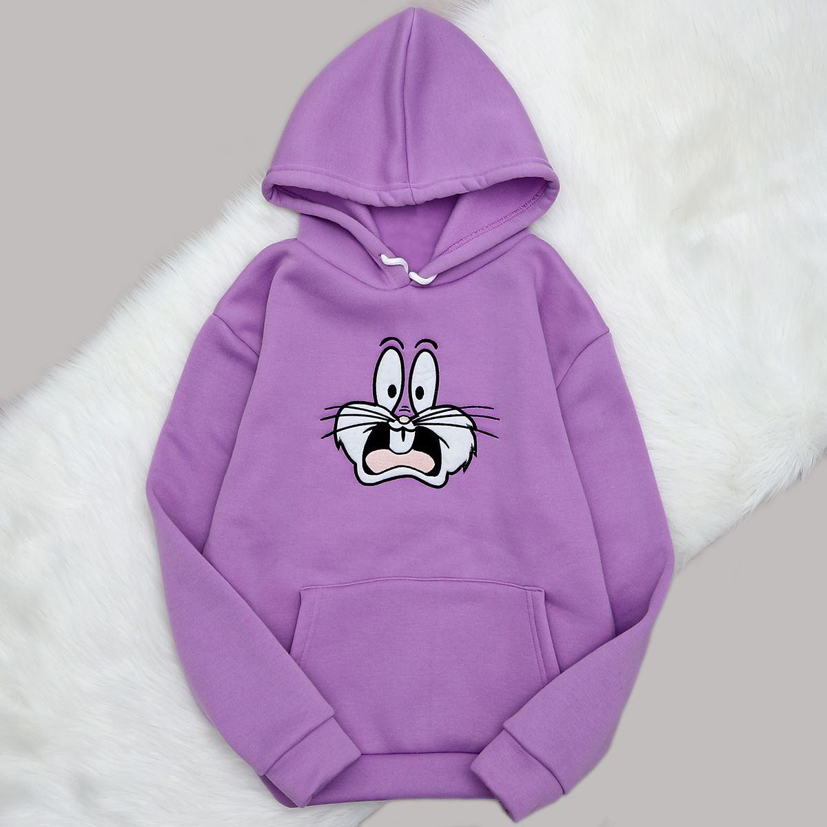 Lila Bugs Bunny Sweat SWT395
