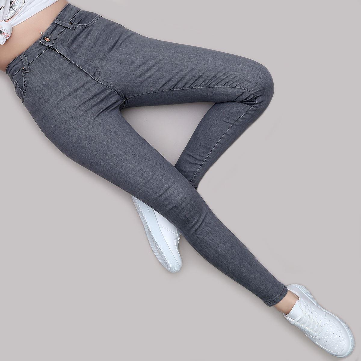 Yüksek Bel Skinny Jean PNT187