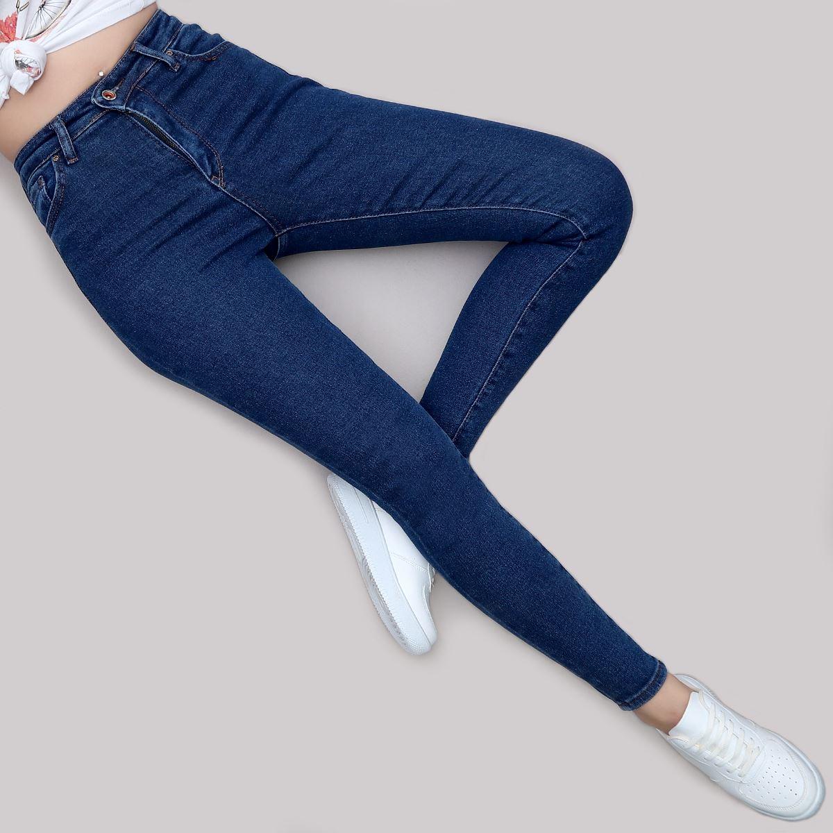 Yüksek Bel Skinny Jean PNT195