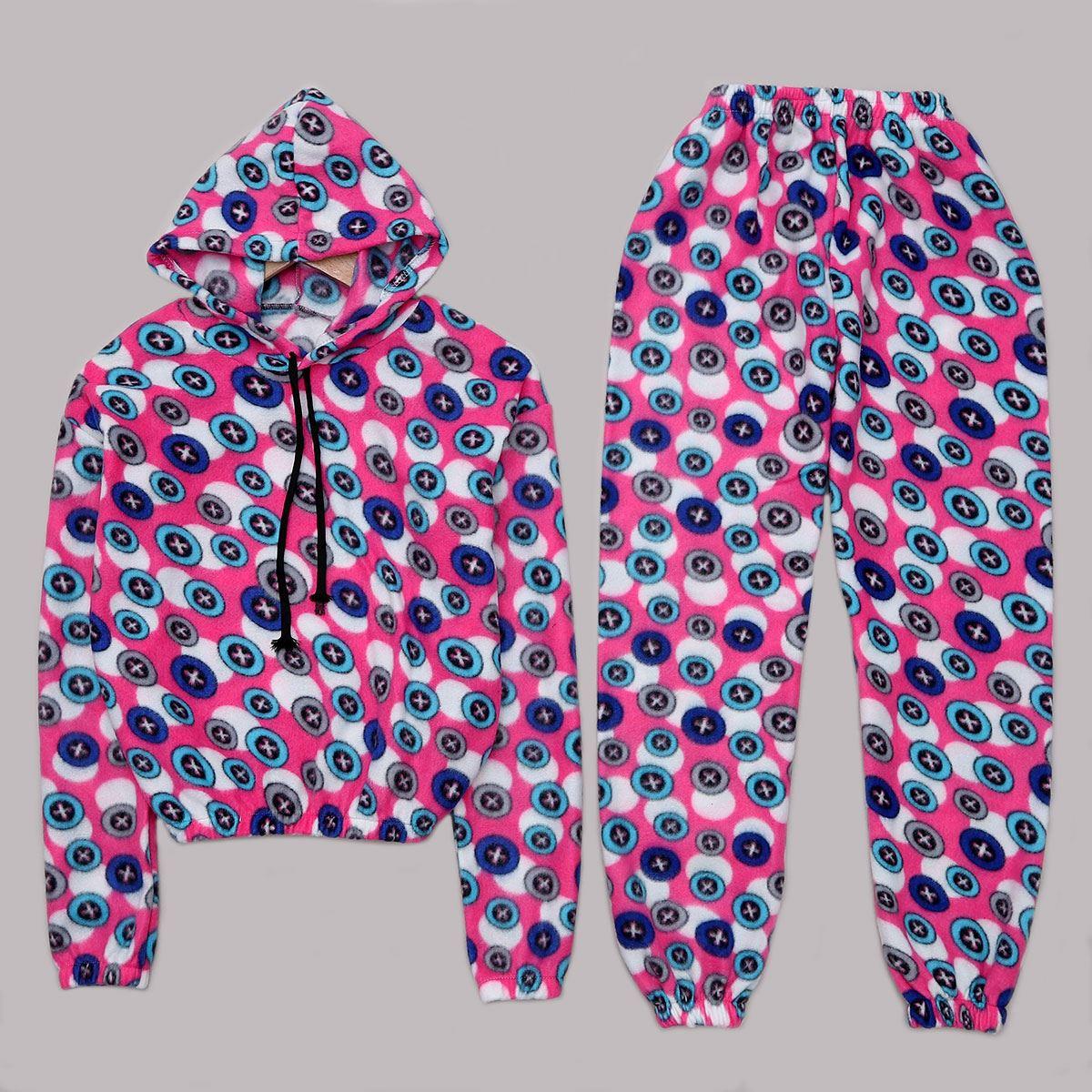 Pembe Polar Pijama Takımı PJM1090