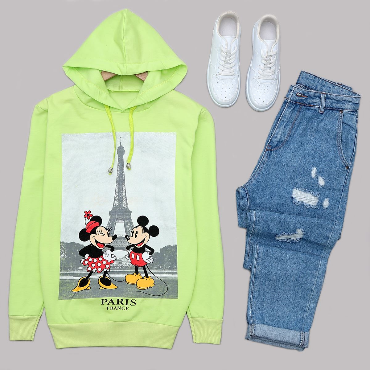 Neon Mickey Sweat SWT429