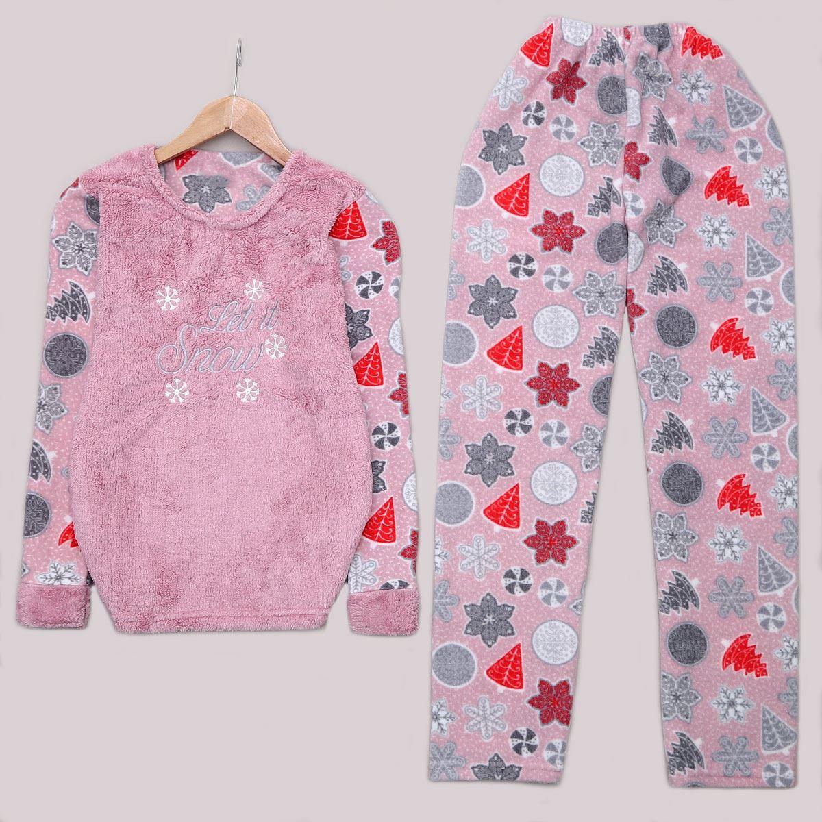 Lila Snow Pijama Takımı PJM1113