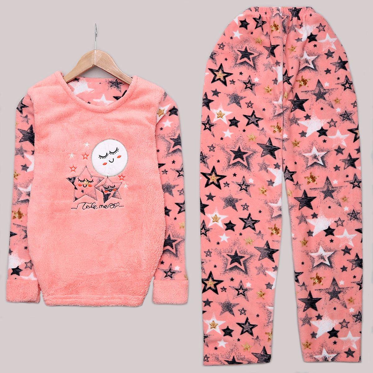 Pudra Star Pijama Takımı PJM1114