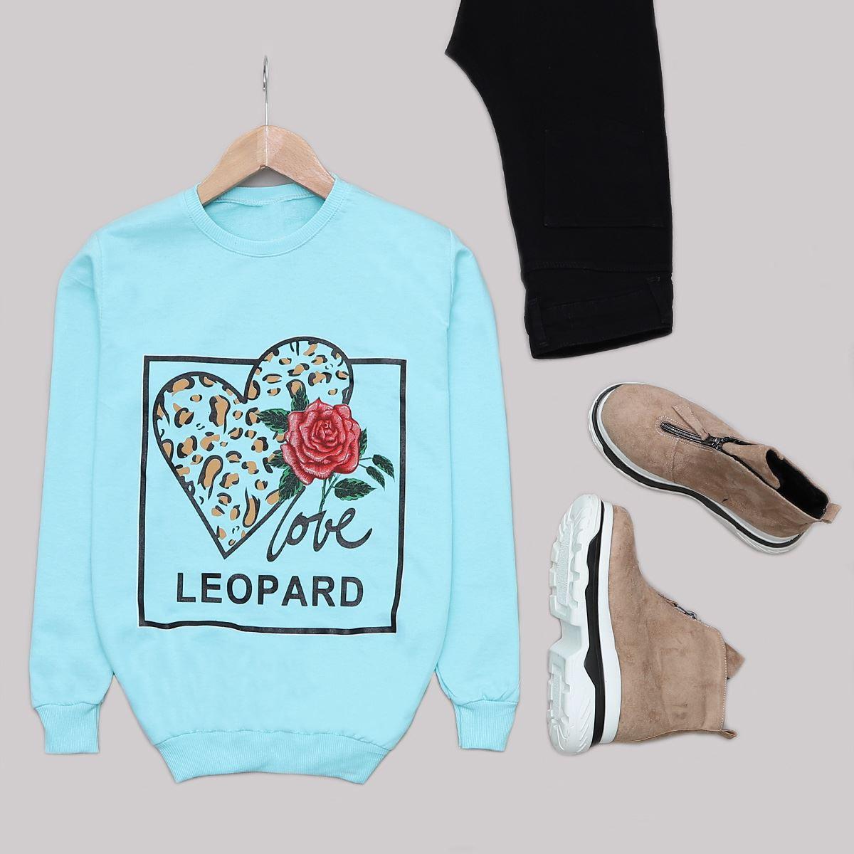 Mavi Leopar Sweat SWT458