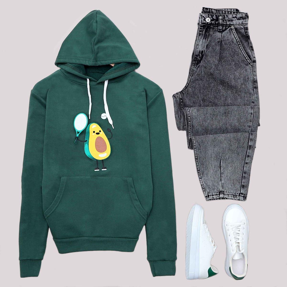 Haki Avocado Sweat SWT467