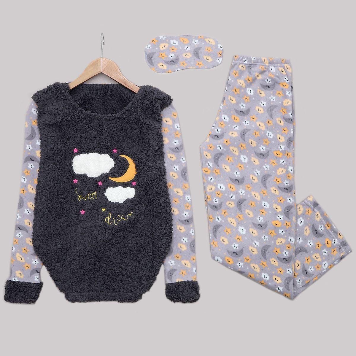 Antrasit Pijama Takımı PJM1154