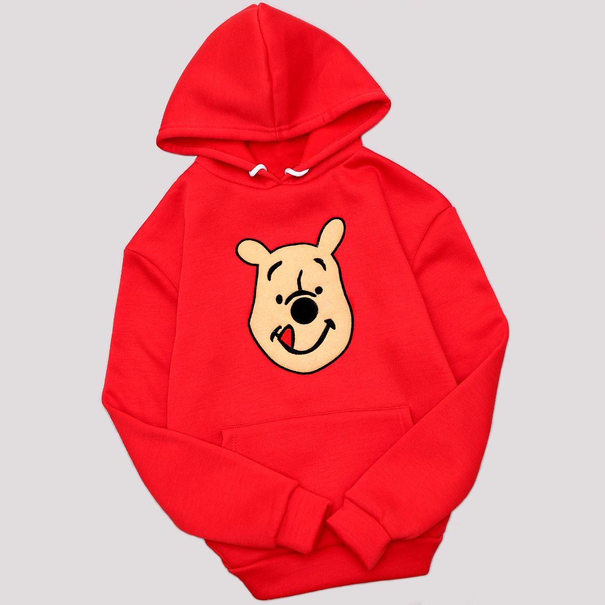 Kırmızı Teddy Bear Sweat SWT488
