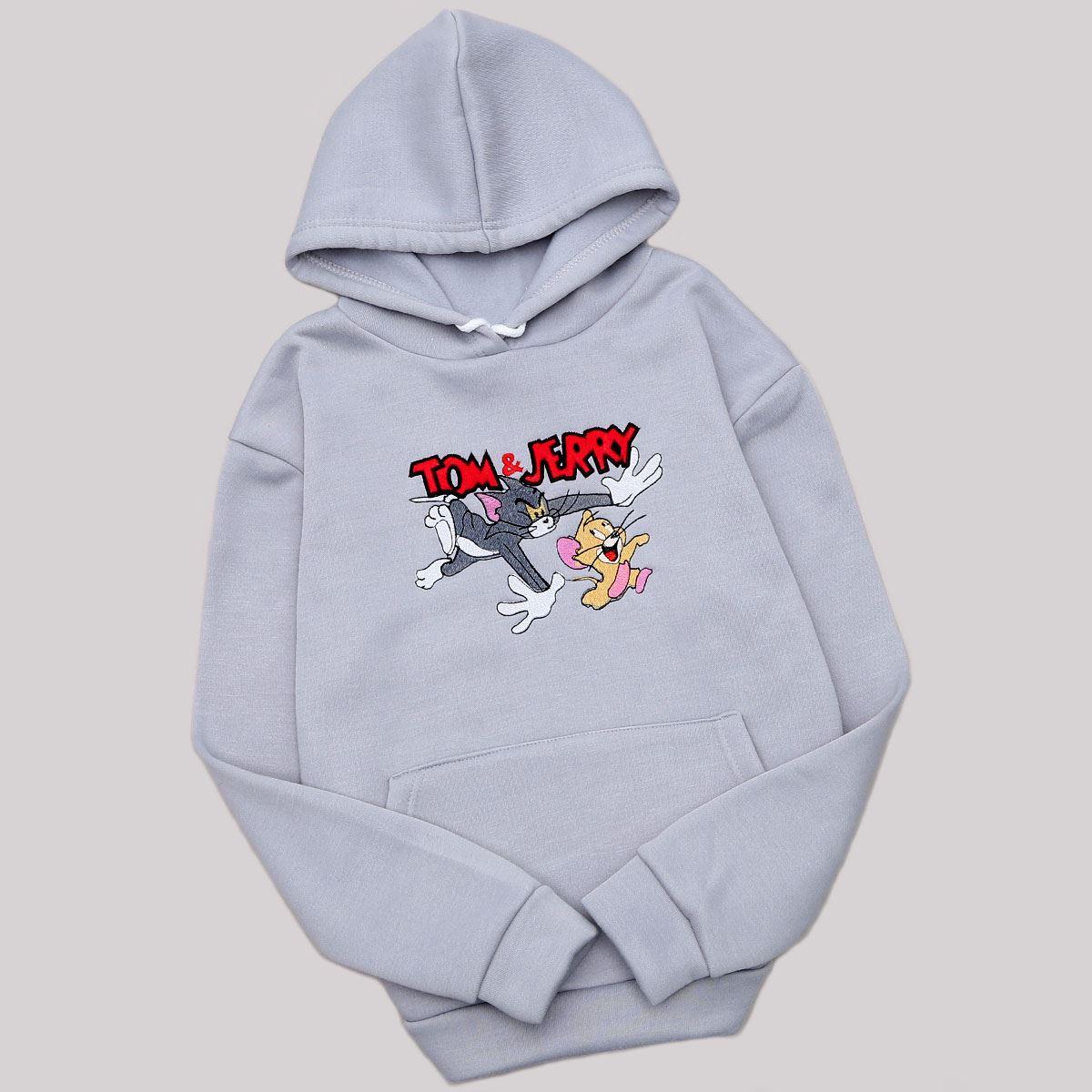 Gri Tom ve Jerry Sweat SWT489