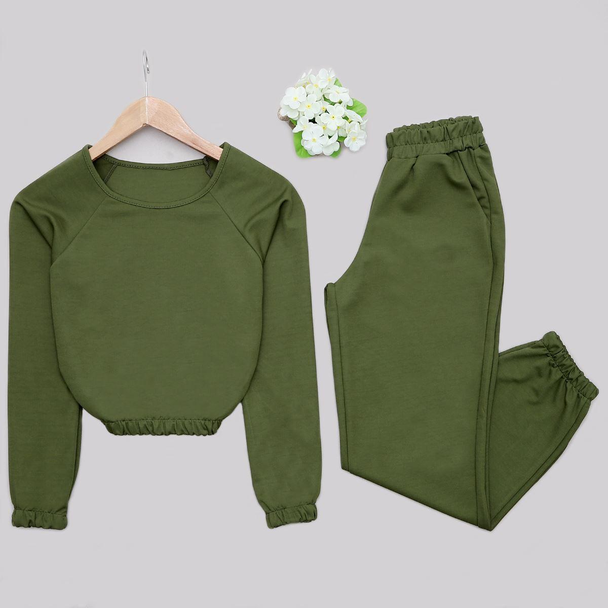 Yeşil Eşofman Takımı TKM1206