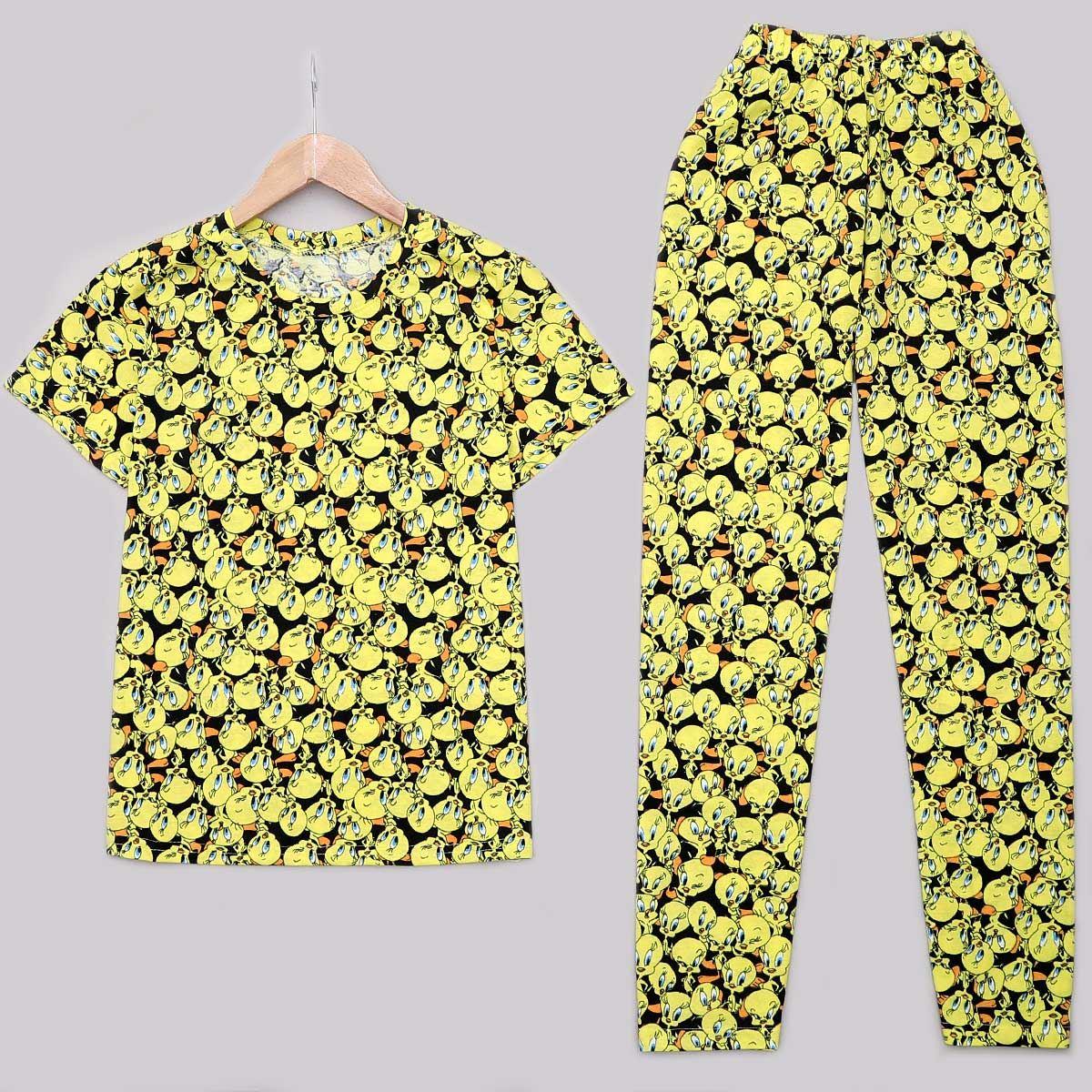 Sarı Tweety Pijama Takımı PJM1191