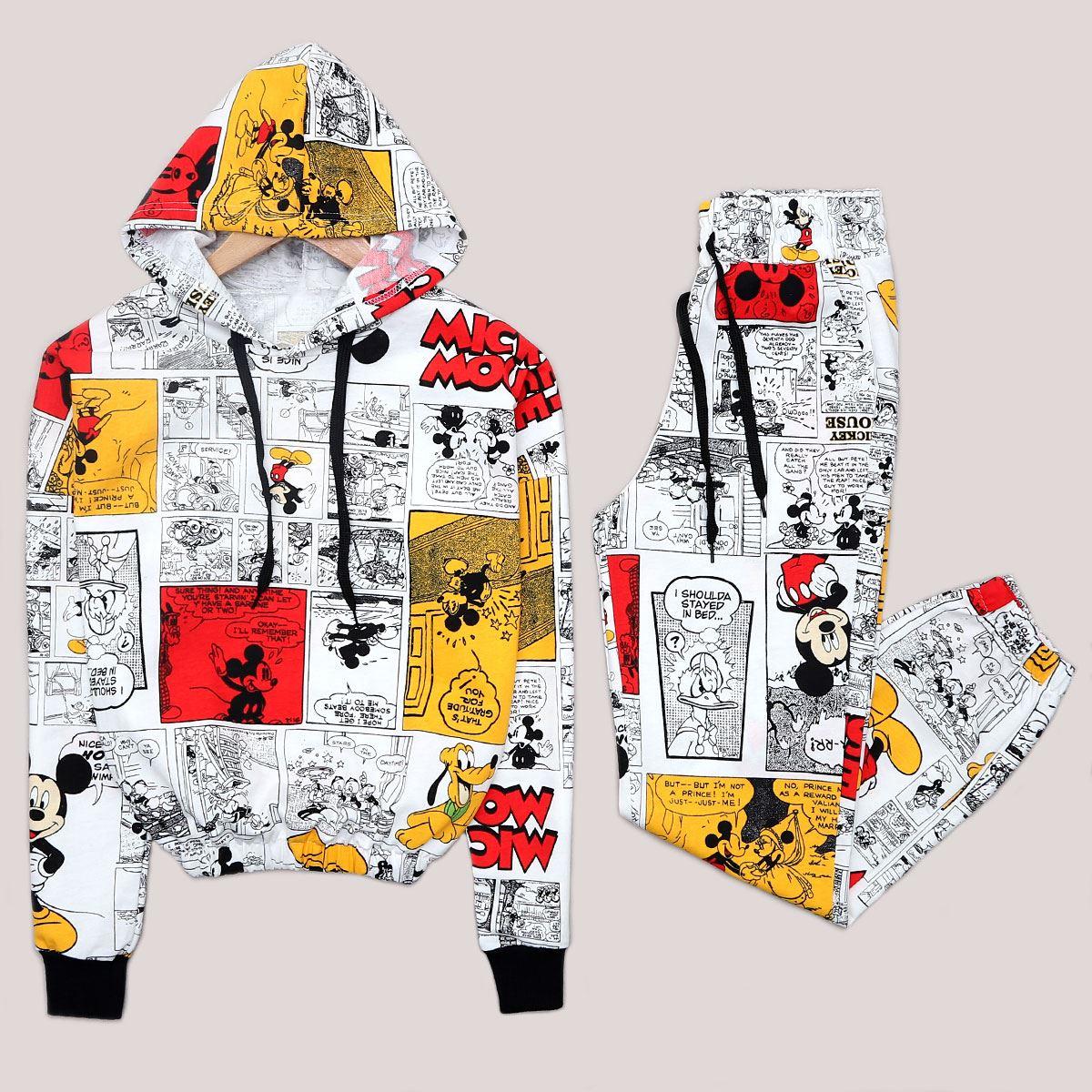 Mickey Mouse Eşofman Takımı TKM1243