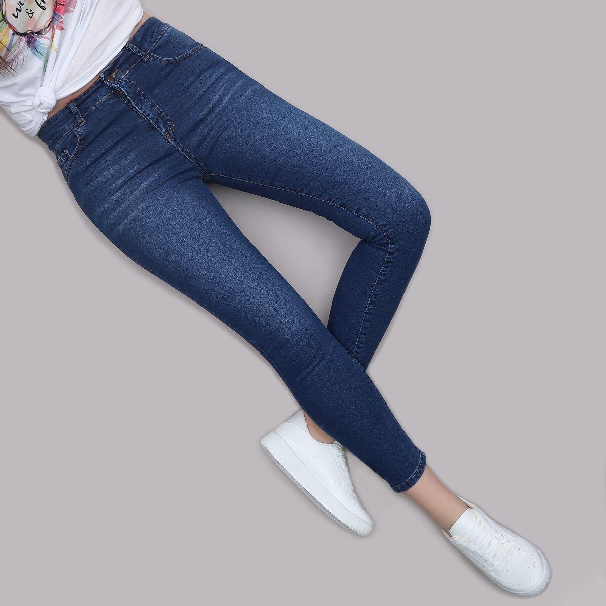 Yüksek Bel Skinny Jean PNT205