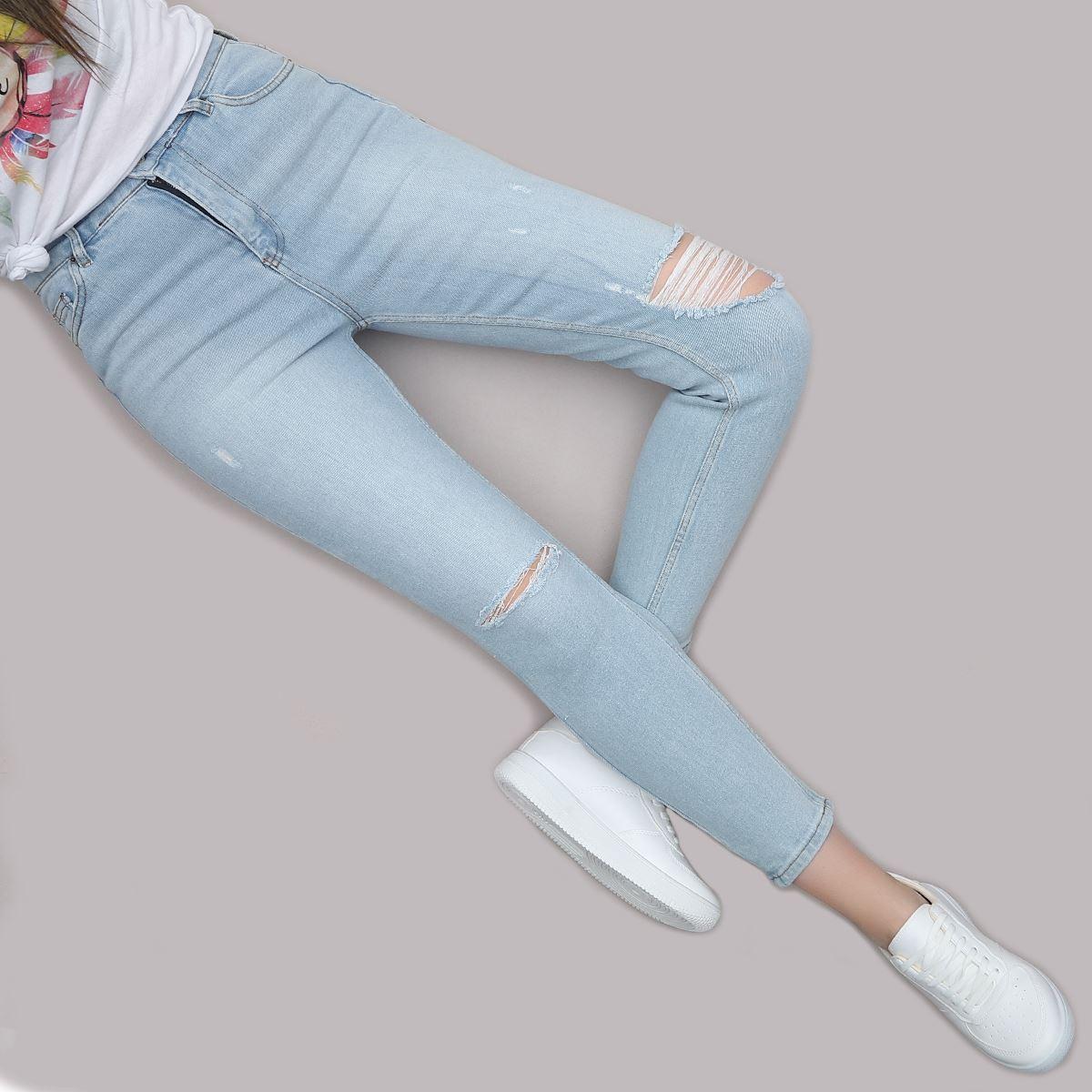 Yüksek Bel Skinny Jean PNT209