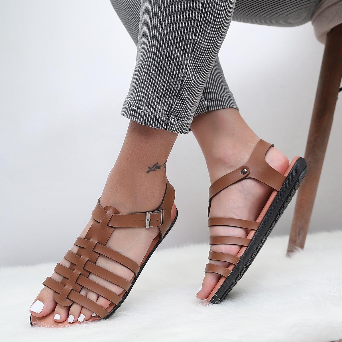 Taba Ahtapot Sandalet SND191