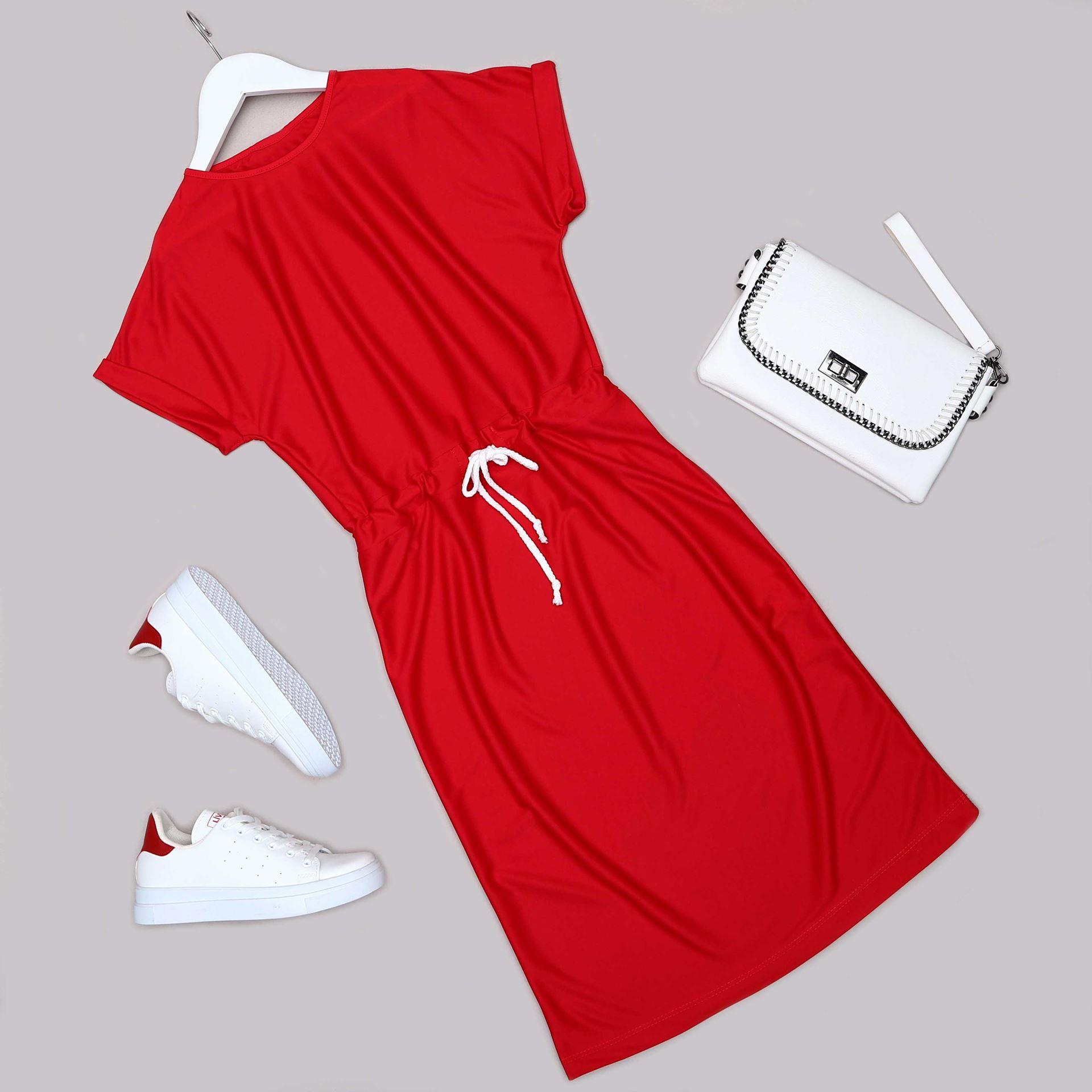 Kırmızı Elbise ELB513