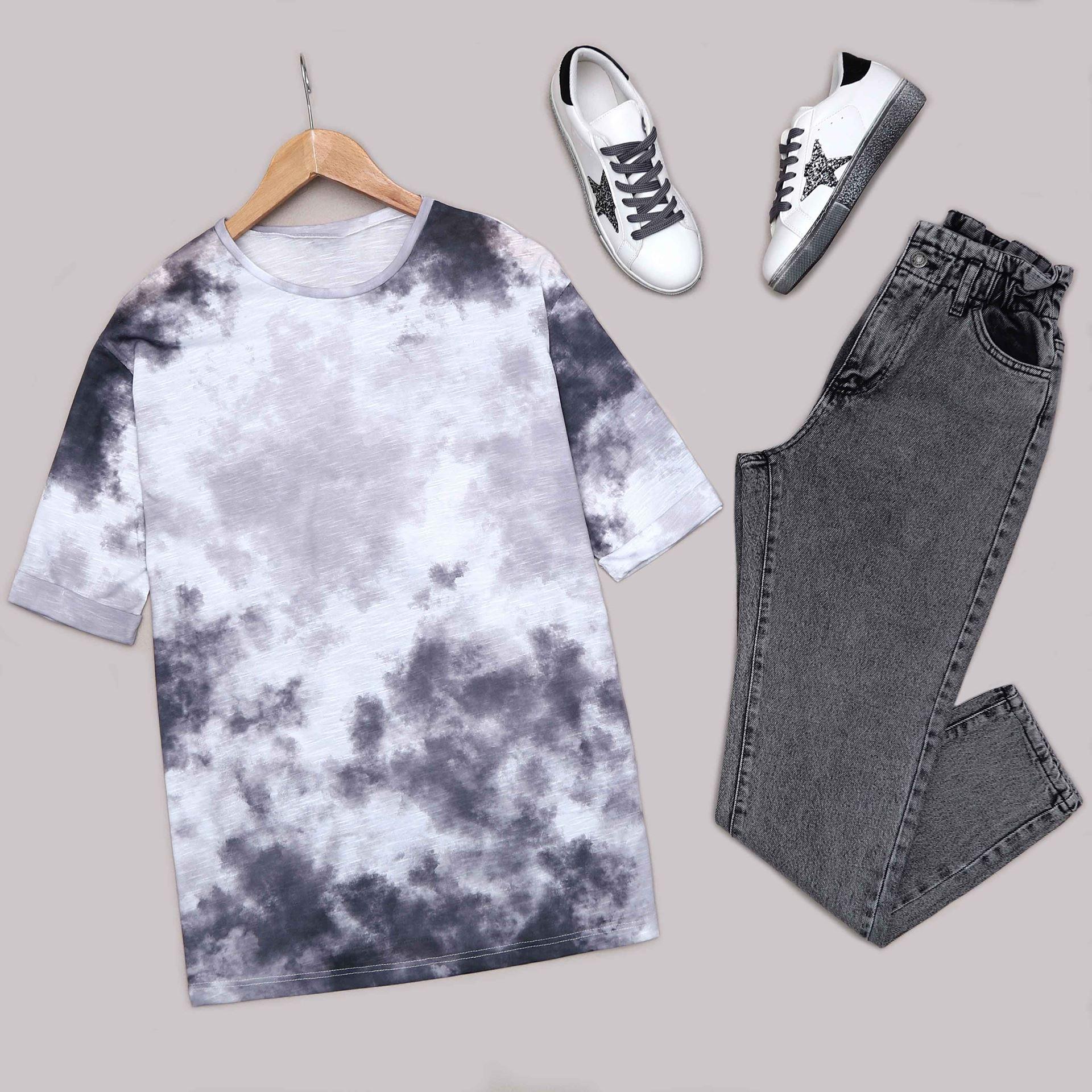 Füme Batik T-Shirt TSH198