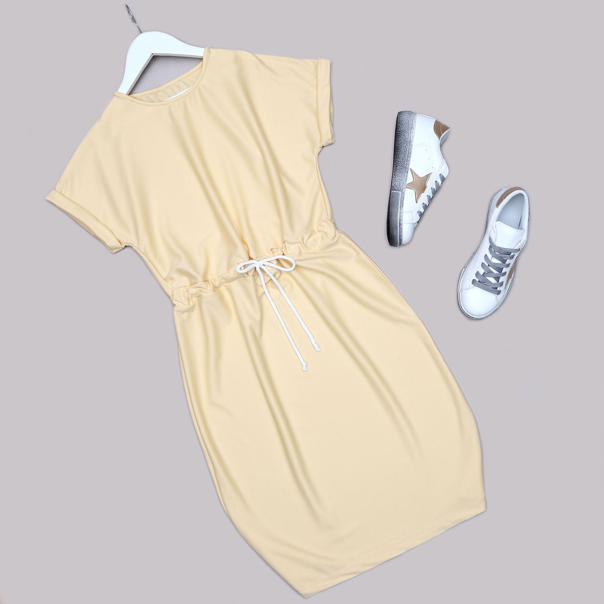 Sarı Elbise ELB525