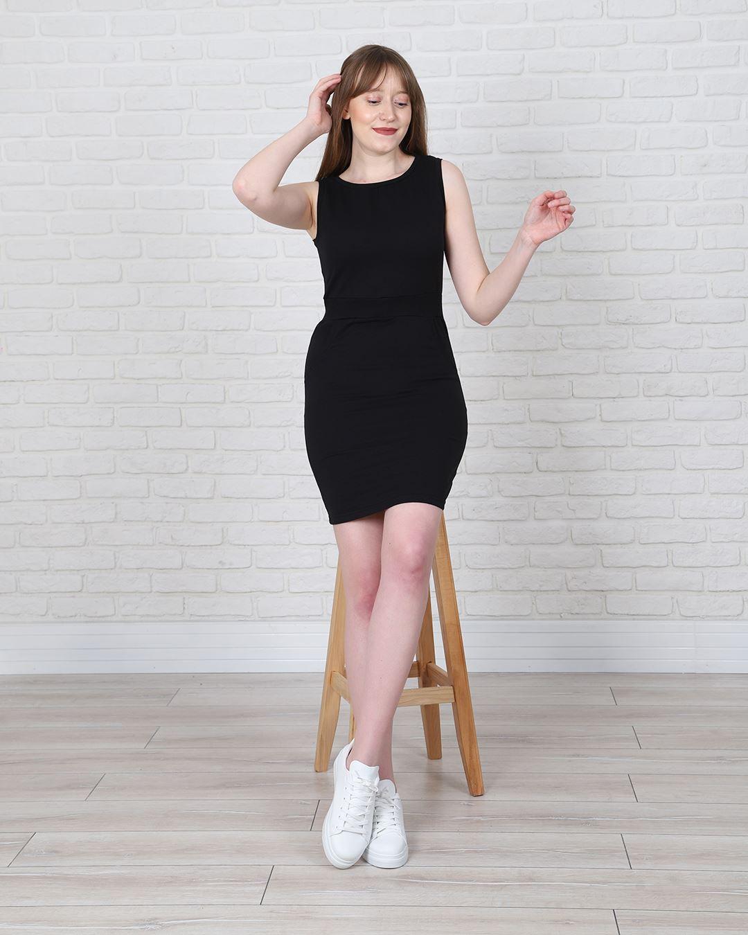 Siyah Elbise ELB538