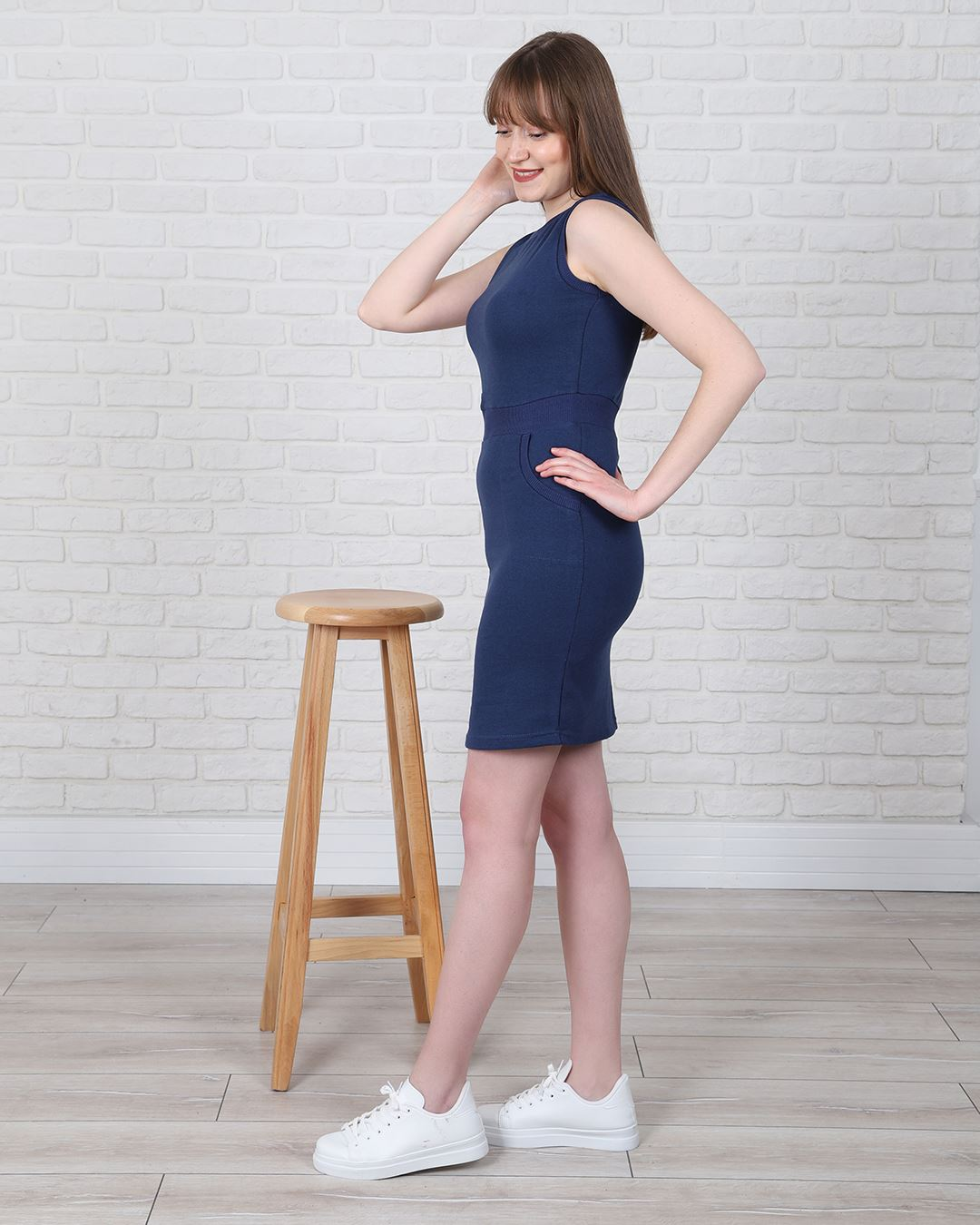 İndigo Elbise ELB540